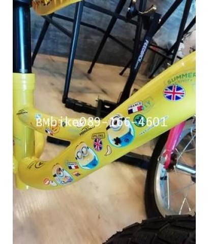 จักรยานขาไถเด็ก LA minion ขนาดล้อ 12