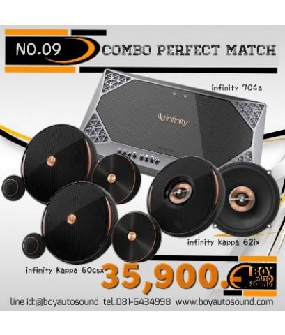 set no.09 combo perfect match INFINITY kappa serires by harman 35,900 ที่สุดแห่งรายละเอียดเสียง