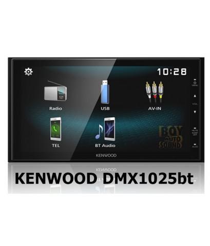 KENWOOD DMX1025bt เบอร์ใหม่ล่าสุด เล็กพริกขี้หนู รองรับใช้งาน usb mirroring ใช้งานคู่กับANDROID