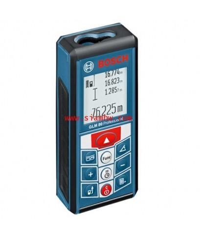 เครื่องวัดระดับเลเซอร์ BOSCH Laser Distance Meter GLM80