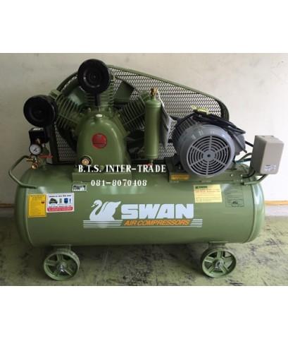 ปั๊มลม สวอน พร้อมมอเตอร์ รุ่น HWP-307/380V-237Lรุ่นแรงดันสูง