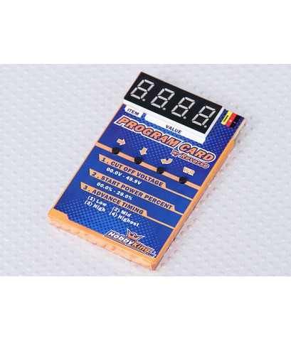 Hobby King  Programming Card for Car ESC โปรแกรมการ์ด