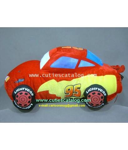 ตุ๊กตาคาร์ @ รถแมคควีน จากเรื่องคาร์Lighting Mcqueen @ Cars ขนาด M
