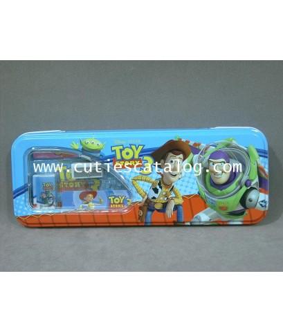 กล่องดินสอ/กล่องเครื่องเขียน ทอย สตอรี่ Toy story stationery box แบบ 2