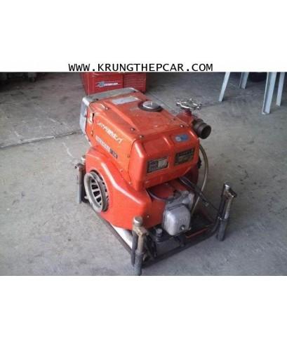.ขายเครื่องฉีดน้ำดับเพลิง ขายปั๊มน้ำดับเพลิง แบบหาบ เครื่องยนต์เบนซิน2สูบ เบน@A13-N5A-