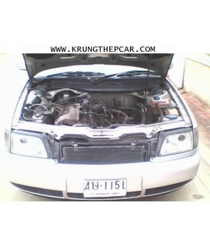 .ขายรถยนต์มือสอง AUDI A6 2.3 ปี1996 เกียร์ออโต้ สีบรอนซ์เงิน เบาะไฟฟ้า ใช้2ระบบ แก็สและน้ำมัน A01