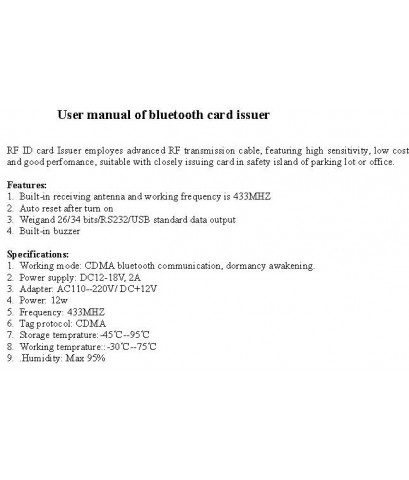 bluetooth card issure