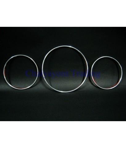 ประดับยนต์ชุดแต่งรถ วงแหวนโครเมี่ยมเรือนไมล์รถเบนซ์ W202 C180 C220 C240 C280 Models