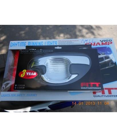 ไฟDAY LIGHT NEWFORTUNER2012/ ประดับยนต์ยี่ห้อFITT ราคาส่ง
