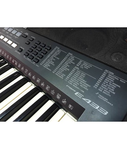 PSR-E433 YAMAHA คีย์บอร์ดมือสอง สภาพ70เปอร์เซ็น แถม USB จังหวะไทยอีกครบ เสียงดียอดนิยมราคาไม่แรง