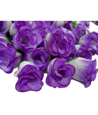 ดอกกุหลาบประดิษฐ์สีม่วง