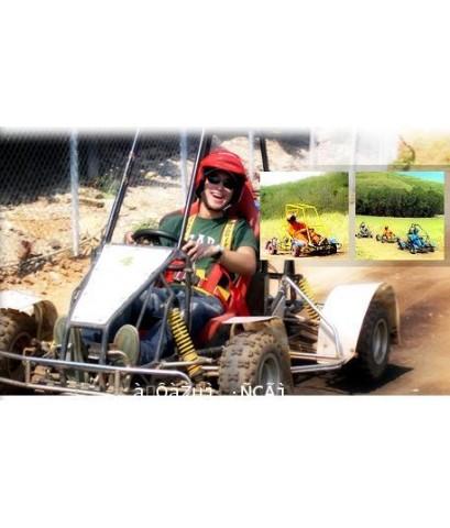 ขับรถ ATV,โรดิโอจักรกล,ขับรถ cart cross,ขับรถ go cart,bumper boat,สกีบก (luge),flying fox,ขี่ม้า