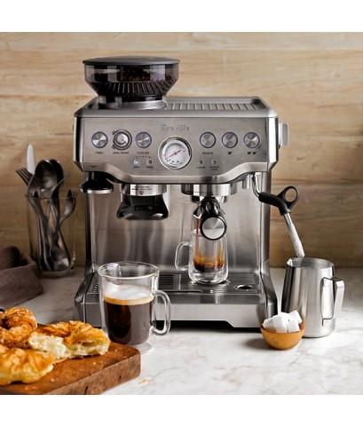 ชุดเปิดร้านกาแฟสดมืออาชีพจากออสเตรเลีย Breville Espresso BES870XL ตั้งโปรแกรมระดับน้ำอัตโนมัติได้