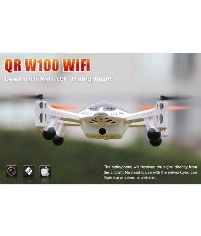 คู่แข่ง AR Drone กับ Walkera W100 ยานบินติดกล้องHD บังคับผ่าน IPhone IPad