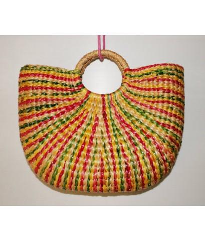 กระเป๋าผักตบชวา