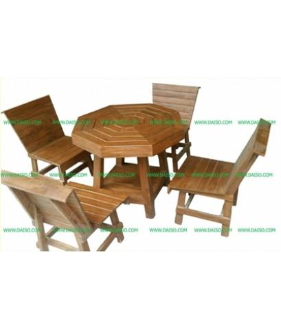 ชุดโต๊ะไม้_Y-1