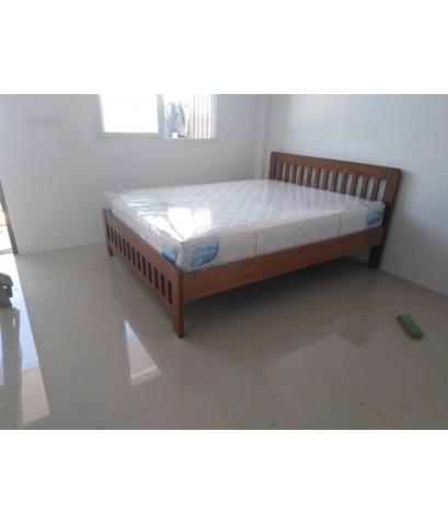 ส่งงานสั่งทำเตียงไม้ยางพารา แบบ2ชั้น/DS RUBBER WOOD-28