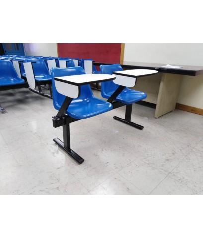 เก้าอี้เลคเชอร์แถวโพลีโพพิลีน 2 ที่นั่ง CR-28-2