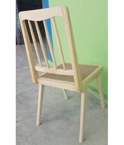 งานสั่งทำ เก้าอี้ทานข้าวไม้ยางพาราเกรดพรีเมียม