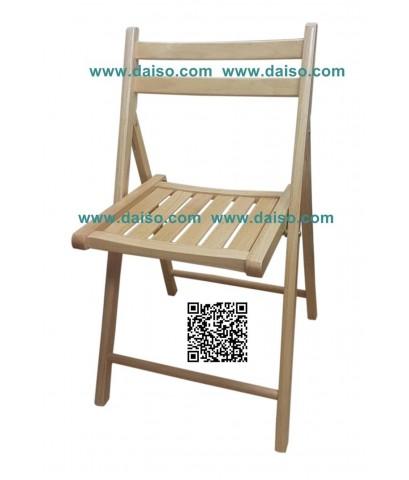 เก้าอี้ไม้ยางพารา CD-118 คุณภาพส่งออก
