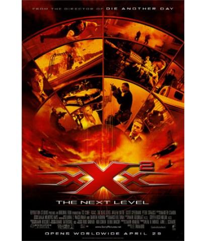 หนังโรงXXX2 ทริปเปิ้ลเอ๊กซ์ 2 พยัคร้ายพันธุ์ดุ 2 /พากษ์ไทย,อังกฤษ+ซับไทย,อังกฤษ/DVD 1แผ่น