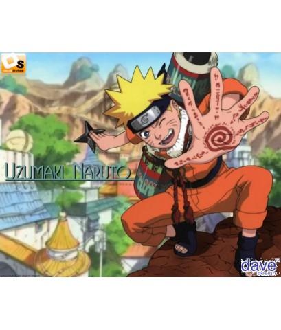 นารูโตะ นินจาจอมคาถา(จบภาคเด็ก) Naruto /การ์ตูนชุด /พากษ์ไทย V2D 11แผ่นจบ (แผ่นละ 20ตอน)