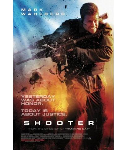 หนังฝรั่งShooter  คนระห่ำปืนเดือด /หนังบู๊แอคชั่น /พากษ์ไทย,อังกฤษ+ซับไทย DVD 1แผ่น