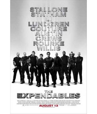 หนังฝรั่งThe Expendables โครตคนทีมมหากาฬ /พากษ์ไทย,อังกฤษ+ซับไทย DVD 1แผ่น มาสเตอร์