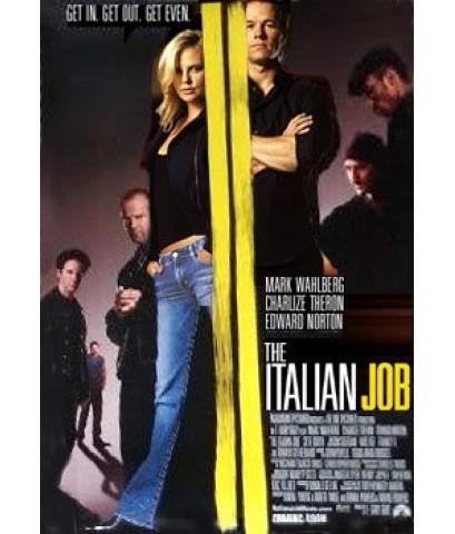 หนังฝรั่งThe Italian Job ปล้นซ้อนปล้น พลิกถนนล่า/หนังแอคชั่น+จารกรรม พากษ์ไทย,อังกฤษ+ซับไทยDVD 1แผ่น