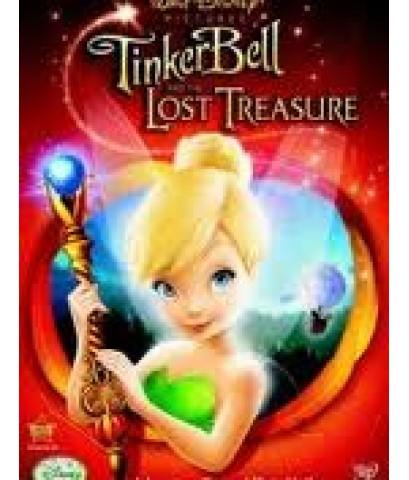 TinkerBell And the Lost Treasure ทิงเกอร์ เบลล์ กับสมบัติที่สูญหาย /พากษ์ไทย,อังกฤษ+ซับไทย DVD1แผ่น