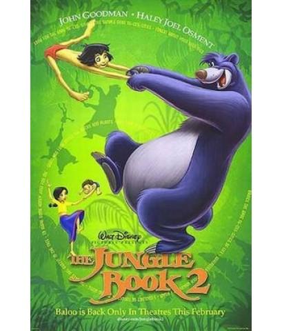 การ์ตูนThe Jungle Book 2 -เมาคลีลูกหมาป่า 2 /พากษ์ไทย,อังกฤษ+ซับไทย DVD 1แผ่น