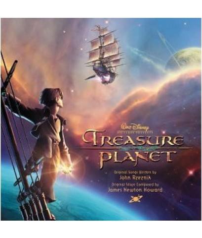 Treasure Planet - ผจญภัยขุมทรัพย์ดาวมฤตยู /หนังการ์ตูน /พากษ์ไทย,อังกฤษ+ซับไทย,อังกฤษ DVD 1แผ่น