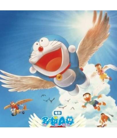 โดราเอม่อน เดอะมูฟวี่ ตอน อัศวินแดนวิหค /พากษ์ไทย+ญี่ปุ่น+ซับไทย DVD 1แผ่น