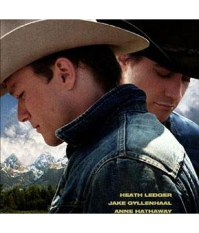หนังฝรั่งBrokeback Mountain หุบเขาเร้นรัก /พากษ์ไทย,อังกฤษ+ซับไทย,อังกฤษ DVD 1แผ่น 18+