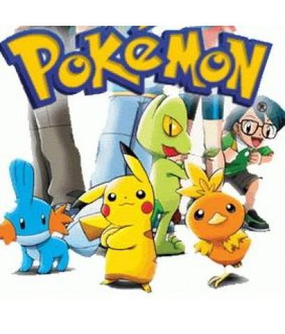 โปเกม่อน ภาค1-4 Pokemon season 1-4 /การ์ตูนชุด /พากษ์ไทย 12แผ่น