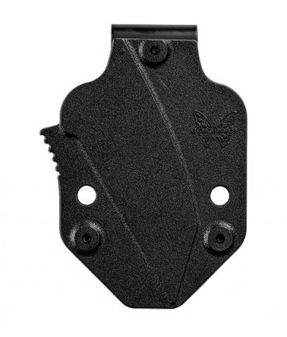 มีดใบตาย Benchmade Azeria Fixed N680 Black Plain Blade, Black Grivory Handles (125BK)