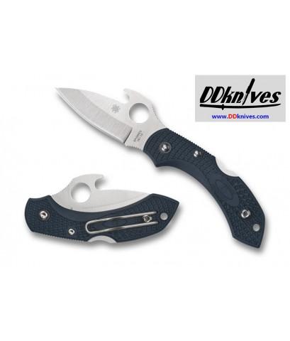 มีดพับ Spyderco Dragonfly 2 Emerson Opener Knife, VG10 Plain Blade, Dark Gray FRN Handles (C28PGYW2)