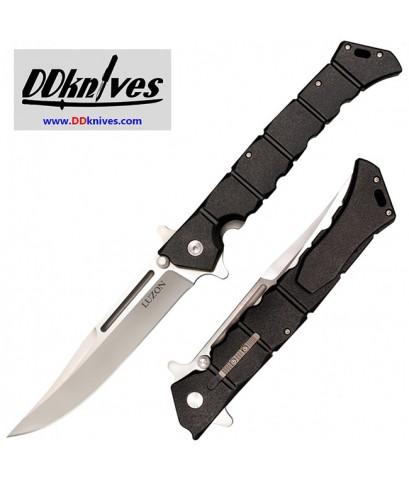 มีดพับ Cold Steel Large Luzon Flipper Knife Plain Blade, Black GFN Handles (20NQX)