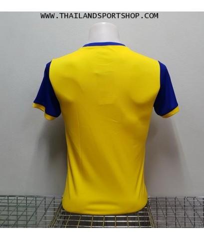 เสื้อกีฬา แกรนด์ สปอร์ต Grand Sport รุ่น 11-456 (สีเหลือง) พิมพ์ลาย