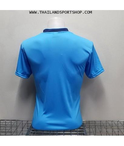 เสื้อกีฬา NAP SPORT รุ่น 15 (สีฟ้า) พิมพ์ลาย