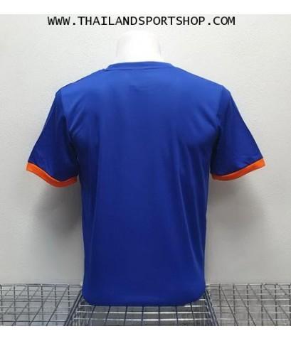 เสื้อ อีโก้ EGO SPORT รุ่น EG-5120 (สีน้ำเงิน) พิมพ์ลาย