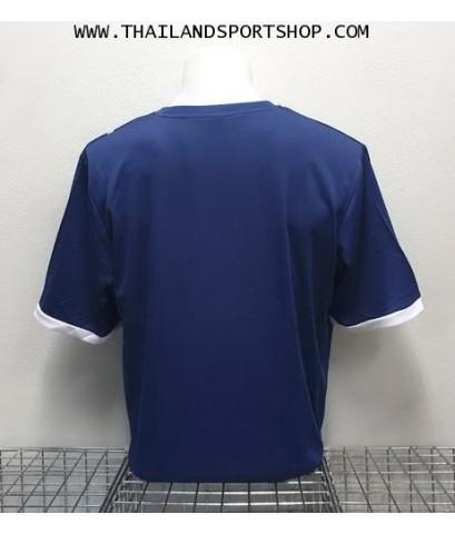 เสื้อ อีโก้ EGO SPORT รุ่น EG-5120 (สีกรมท่า) พิมพ์ลาย