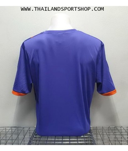 เสื้อ อีโก้ EGO SPORT รุ่น EG-5120 (สีม่วง) พิมพ์ลาย