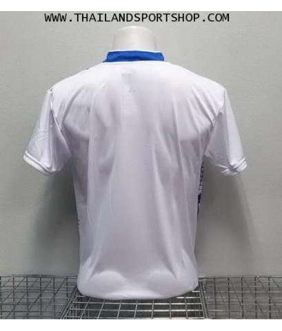 เสื้อกีฬา ที-ทีม  T-TEAM  รุ่น 08 (สีขาว) พิมพ์ลาย