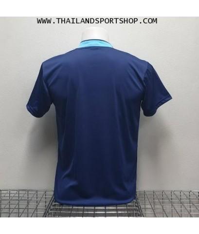เสื้อกีฬา ที-ทีม  T-TEAM  รุ่น 08 (สีกรมท่า) พิมพ์ลาย