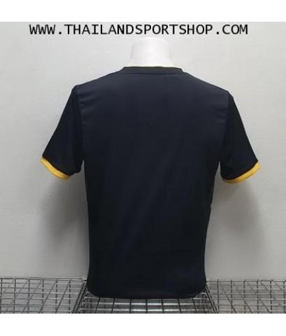 เสื้อกีฬา ยูเรก้า EUREKA รุ่น A5033 (สีดำ AW) พิมพ์ลาย