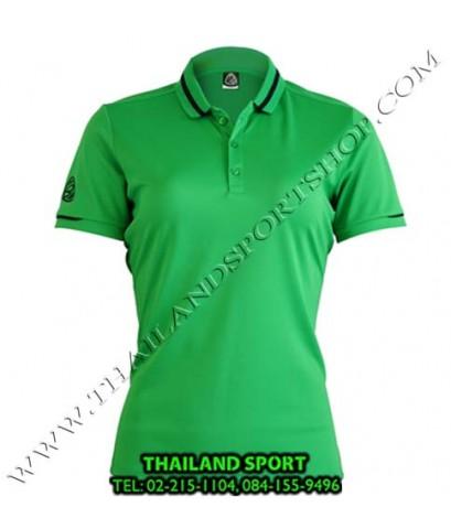 เสื้อ POLO SHIRT อีโก้ EGO SPORT รุ่น EG 6152 (สีเขียว) WOMEN