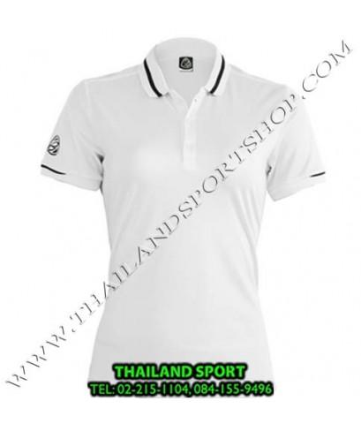 เสื้อ POLO SHIRT อีโก้ EGO SPORT รุ่น EG 6152 (สีขาว) WOMEN