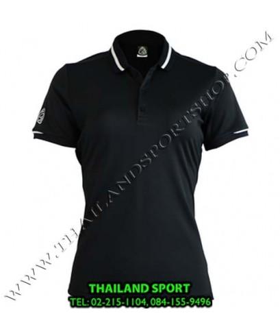 เสื้อ POLO SHIRT อีโก้ EGO SPORT รุ่น EG 6152 (สีดำ) WOMEN