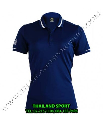 เสื้อ POLO SHIRT อีโก้ EGO SPORT รุ่น EG 6152 (สีกรม) WOMEN